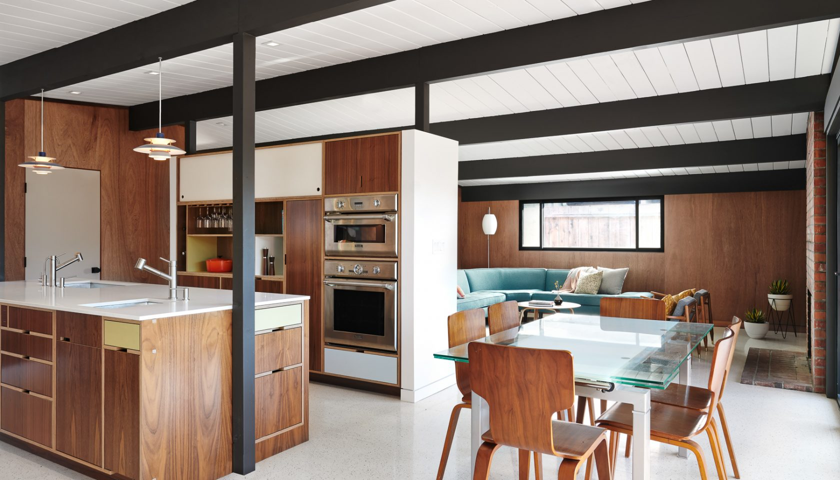 A mid-century renovation